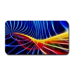 Color Colorful Wave Abstract Medium Bar Mats