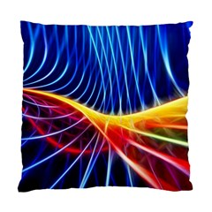 Color Colorful Wave Abstract Standard Cushion Case (two Sides)