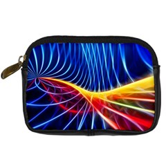 Color Colorful Wave Abstract Digital Camera Cases