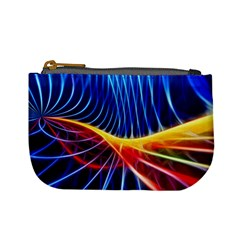 Color Colorful Wave Abstract Mini Coin Purses