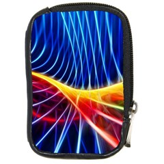 Color Colorful Wave Abstract Compact Camera Cases