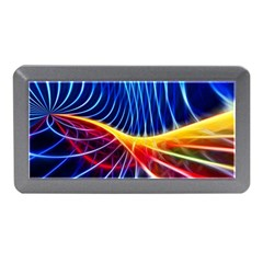 Color Colorful Wave Abstract Memory Card Reader (mini)