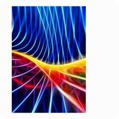 Color Colorful Wave Abstract Small Garden Flag (two Sides)