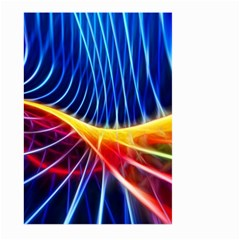 Color Colorful Wave Abstract Large Garden Flag (two Sides)