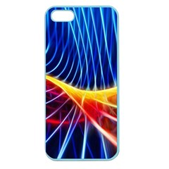 Color Colorful Wave Abstract Apple Seamless Iphone 5 Case (color)