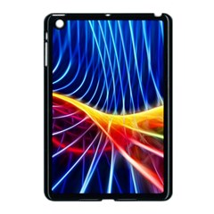 Color Colorful Wave Abstract Apple Ipad Mini Case (black)