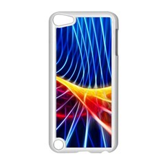 Color Colorful Wave Abstract Apple Ipod Touch 5 Case (white)