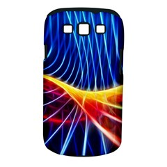 Color Colorful Wave Abstract Samsung Galaxy S Iii Classic Hardshell Case (pc+silicone)