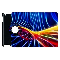 Color Colorful Wave Abstract Apple Ipad 3/4 Flip 360 Case