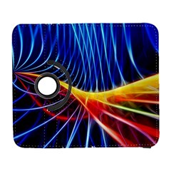 Color Colorful Wave Abstract Galaxy S3 (flip/folio)