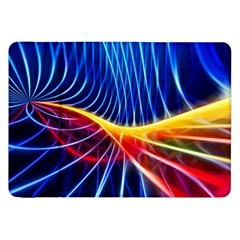 Color Colorful Wave Abstract Samsung Galaxy Tab 8 9  P7300 Flip Case