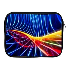 Color Colorful Wave Abstract Apple iPad 2/3/4 Zipper Cases