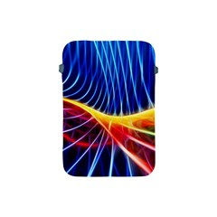Color Colorful Wave Abstract Apple iPad Mini Protective Soft Cases