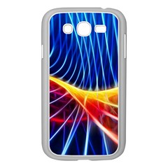 Color Colorful Wave Abstract Samsung Galaxy Grand Duos I9082 Case (white)