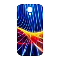 Color Colorful Wave Abstract Samsung Galaxy S4 I9500/i9505  Hardshell Back Case
