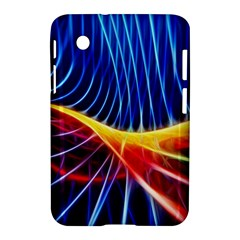 Color Colorful Wave Abstract Samsung Galaxy Tab 2 (7 ) P3100 Hardshell Case