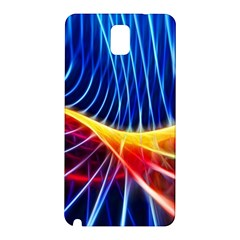 Color Colorful Wave Abstract Samsung Galaxy Note 3 N9005 Hardshell Back Case
