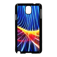 Color Colorful Wave Abstract Samsung Galaxy Note 3 Neo Hardshell Case (black)