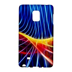 Color Colorful Wave Abstract Galaxy Note Edge