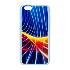 Color Colorful Wave Abstract Apple Seamless iPhone 6/6S Case (Color)