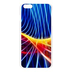 Color Colorful Wave Abstract Apple Seamless iPhone 6 Plus/6S Plus Case (Transparent)