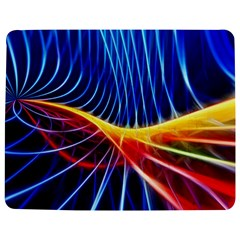 Color Colorful Wave Abstract Jigsaw Puzzle Photo Stand (rectangular)