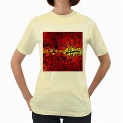 Board Conductors Circuits Women s Yellow T Shirt