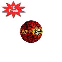 Board Conductors Circuits 1  Mini Buttons (10 Pack)