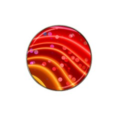 Bokeh Lines Wave Points Swing Hat Clip Ball Marker (10 Pack)
