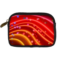 Bokeh Lines Wave Points Swing Digital Camera Cases