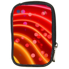 Bokeh Lines Wave Points Swing Compact Camera Cases