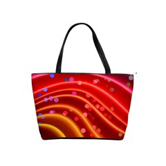 Bokeh Lines Wave Points Swing Shoulder Handbags
