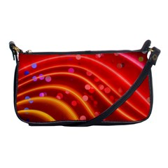 Bokeh Lines Wave Points Swing Shoulder Clutch Bags