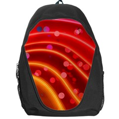 Bokeh Lines Wave Points Swing Backpack Bag