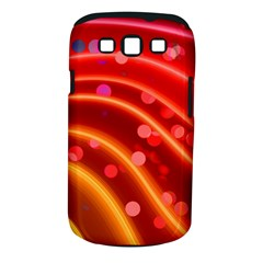 Bokeh Lines Wave Points Swing Samsung Galaxy S Iii Classic Hardshell Case (pc+silicone)