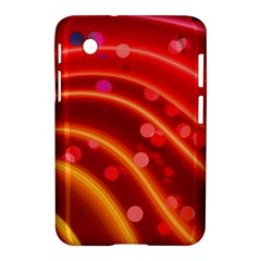 Bokeh Lines Wave Points Swing Samsung Galaxy Tab 2 (7 ) P3100 Hardshell Case