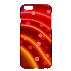Bokeh Lines Wave Points Swing Apple Iphone 6 Plus/6s Plus Hardshell Case