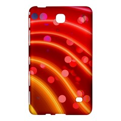 Bokeh Lines Wave Points Swing Samsung Galaxy Tab 4 (7 ) Hardshell Case