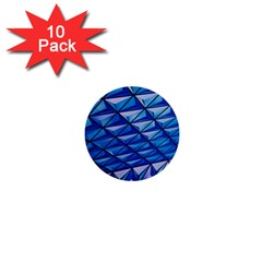 Lines Geometry Architecture Texture 1  Mini Buttons (10 Pack)