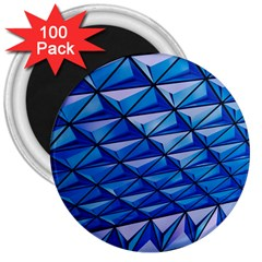Lines Geometry Architecture Texture 3  Magnets (100 pack)