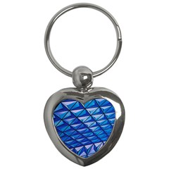 Lines Geometry Architecture Texture Key Chains (heart)