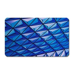 Lines Geometry Architecture Texture Magnet (Rectangular)