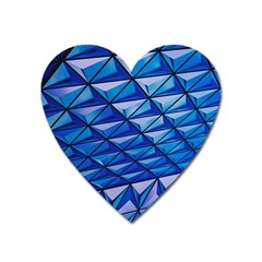 Lines Geometry Architecture Texture Heart Magnet