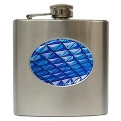 Lines Geometry Architecture Texture Hip Flask (6 Oz)