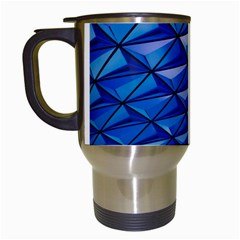 Lines Geometry Architecture Texture Travel Mugs (white)