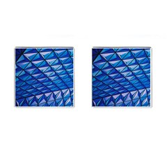 Lines Geometry Architecture Texture Cufflinks (Square)