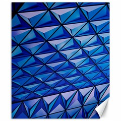 Lines Geometry Architecture Texture Canvas 8  X 10