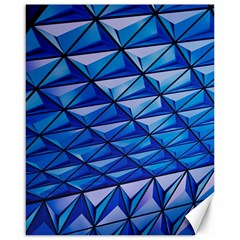 Lines Geometry Architecture Texture Canvas 16  X 20