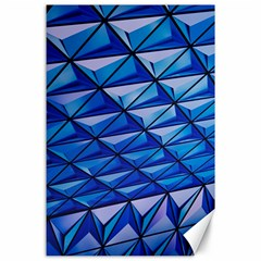 Lines Geometry Architecture Texture Canvas 24  x 36