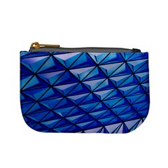 Lines Geometry Architecture Texture Mini Coin Purses